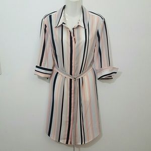 The  Limited NWT shirt Dress Career Size-14 P